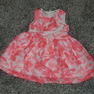 Carter's Pink Floral Dress